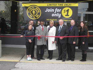 Gold's Gym Grand Opening 5-2-14