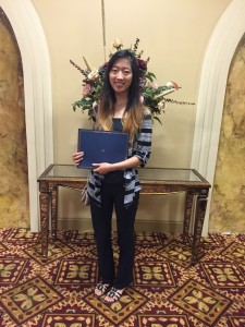 Fanny Huang, 2015 Scholarship Recipient
