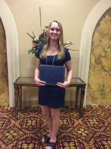 Samantha Newby, 2015 Scholarship Recipient