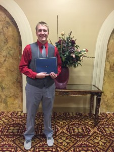 Shawn Zubek, 2015 Scholarship Recipient