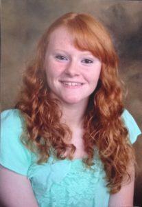 Alison Giordano, 2016 Scholarship Recipient