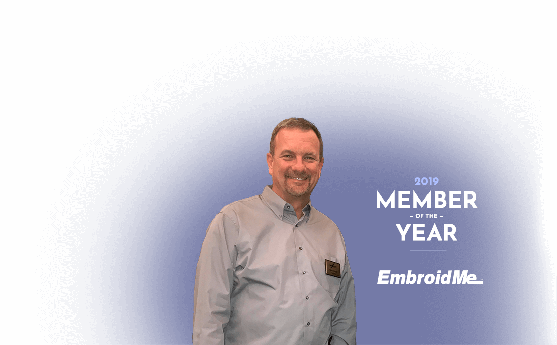2019 Member of the Year - EmbroidMe