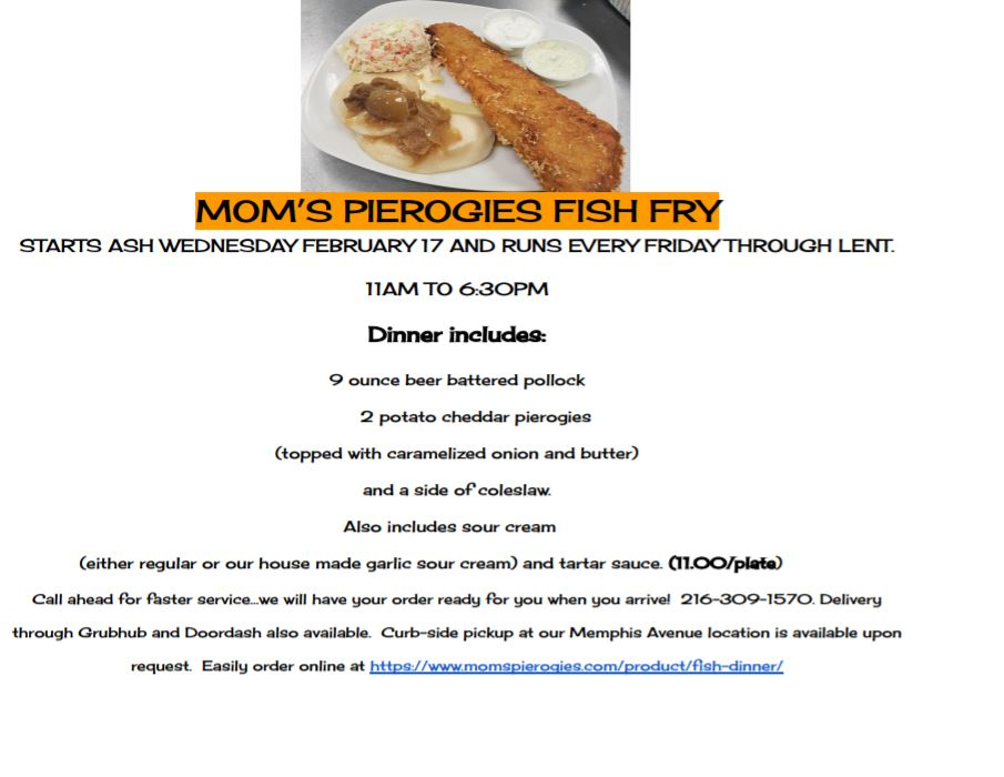 fish fry flyer 2021